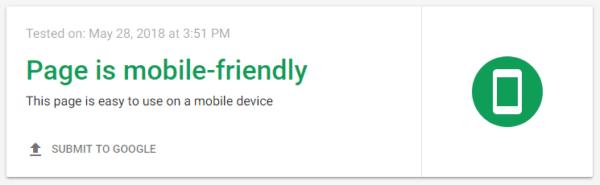 Debello Mobile Friendly Website